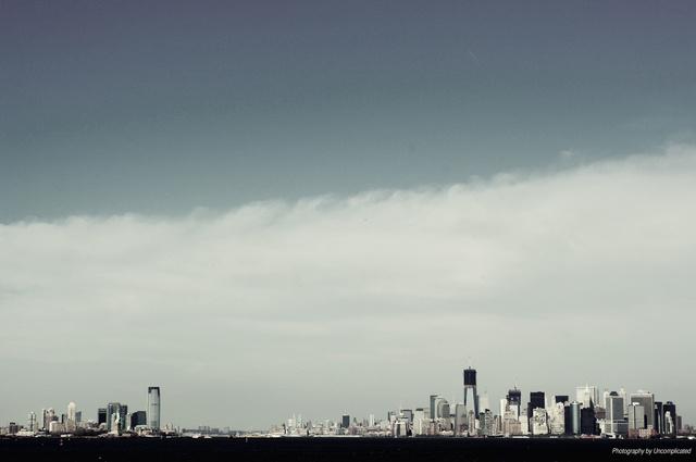 Skyline Lower Manhattan NYC