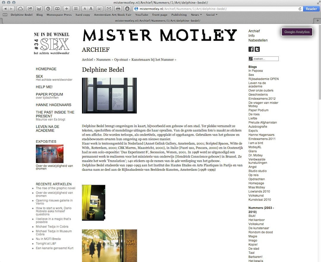 MISTER MOTLEY, 2005