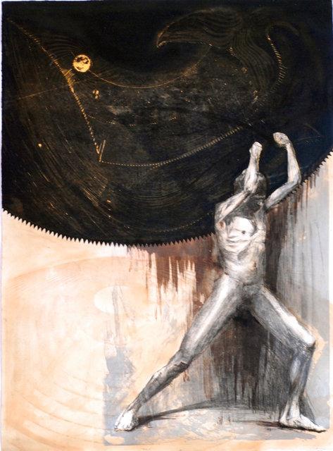 Praca, litografia 77x107 2013