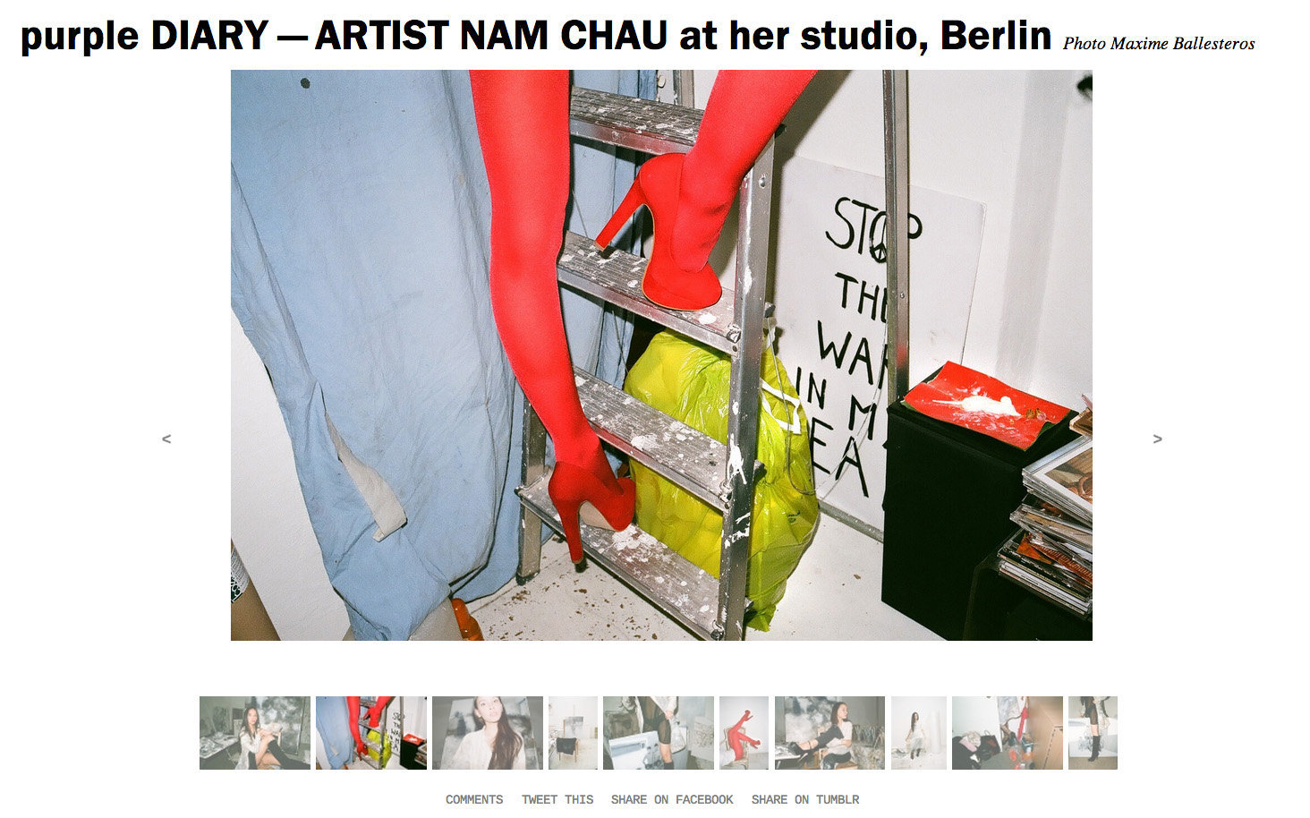 purple DIARY   ARTIST NAM CHAU at her studio  Berlin.jpg