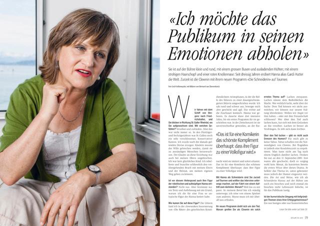 Zeitlupe, Juli/August 2012