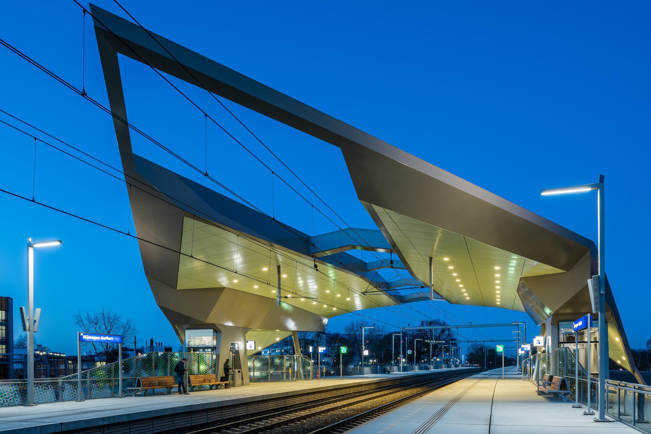 Station Nijmegen Goffert i.o.v. StudioSK/Movares