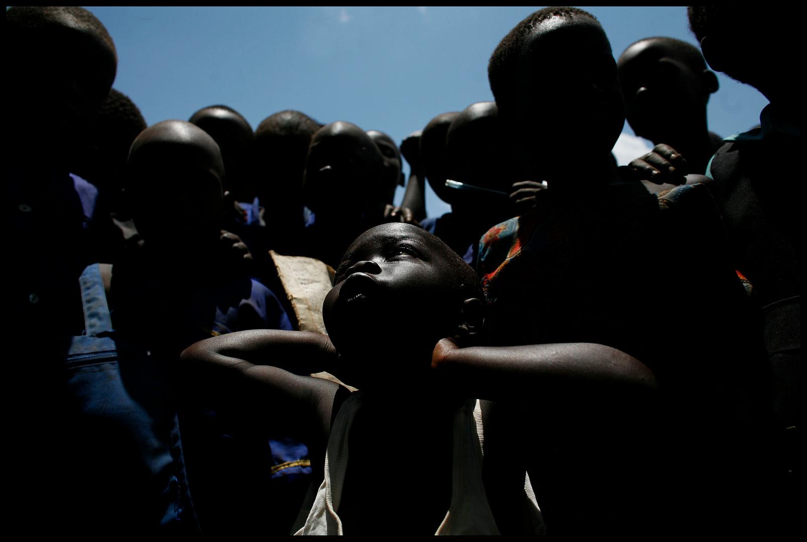 RDC, camps de réfugiés - Programme de vaccination