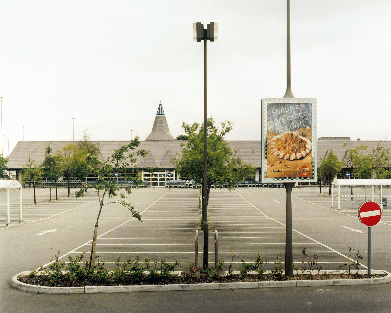 Tesco supermarket, South London