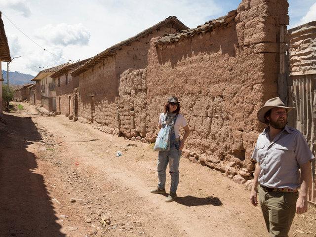 exploring the town of maras
