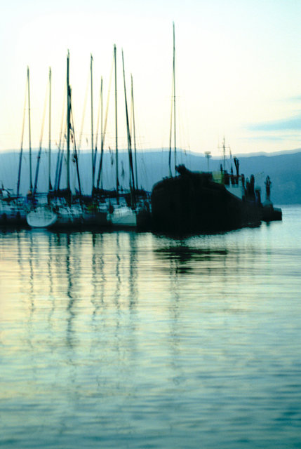 Poetic Boat Silhouettes