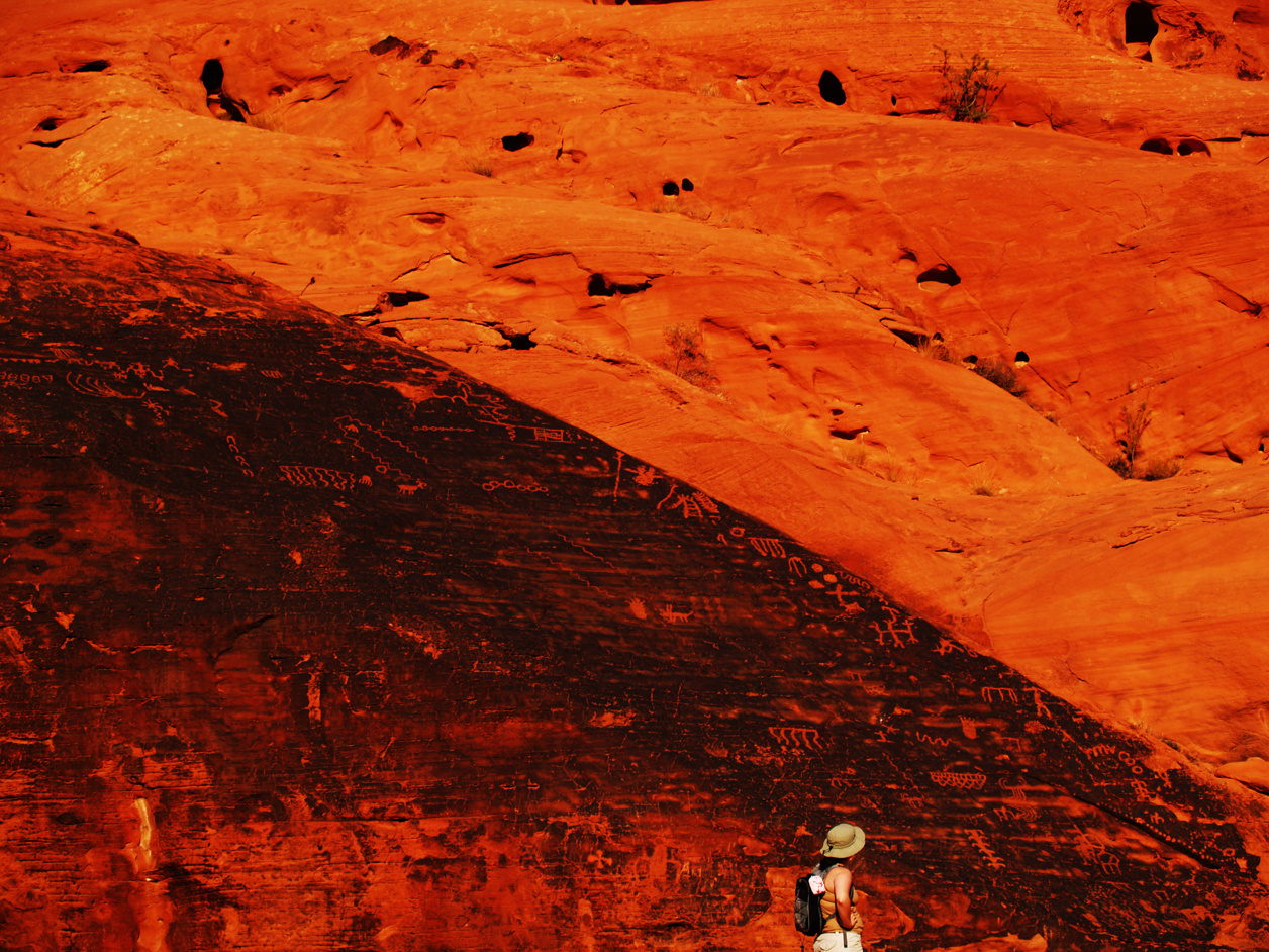 MFLART Valley of Fire - Petroglyphs