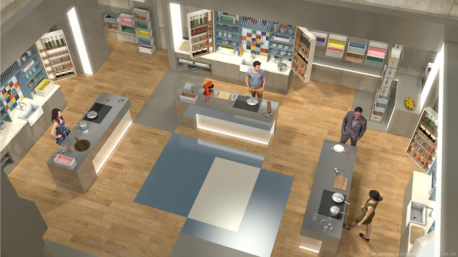 The Box BBC1 - Initial 3D Concept Visual