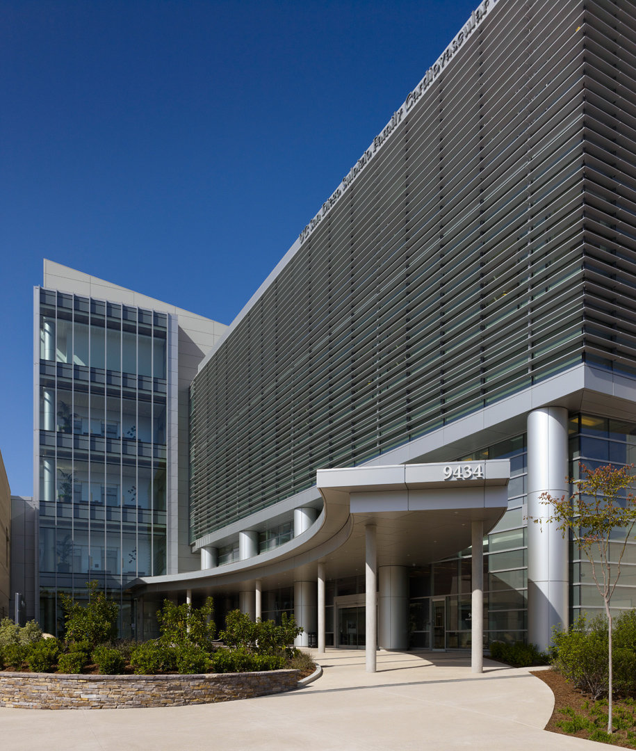 UCSD Sulpizio Cardiovascular Center | Walkway Entrance
