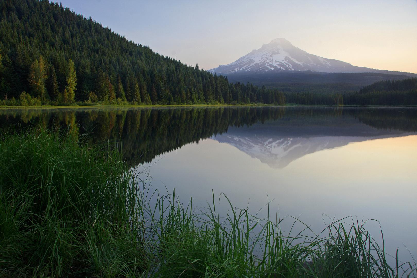 Mt. Hood and Trillium Lake, Oregon