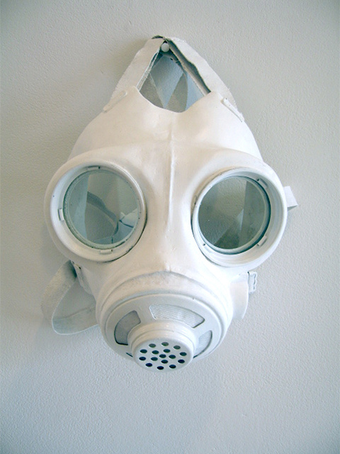 """Have a nice day"" Israeli Gas mask"