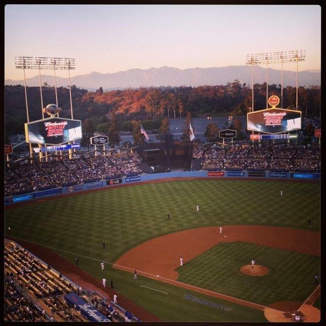 Dodgers stadium, LA.