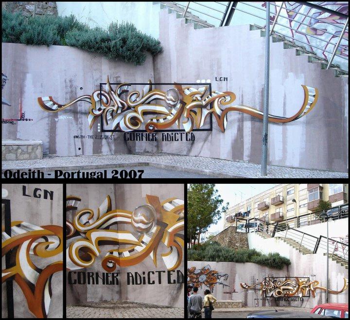 Odeith Anamorphosis 3d Graffiti Ilovegraffiti De