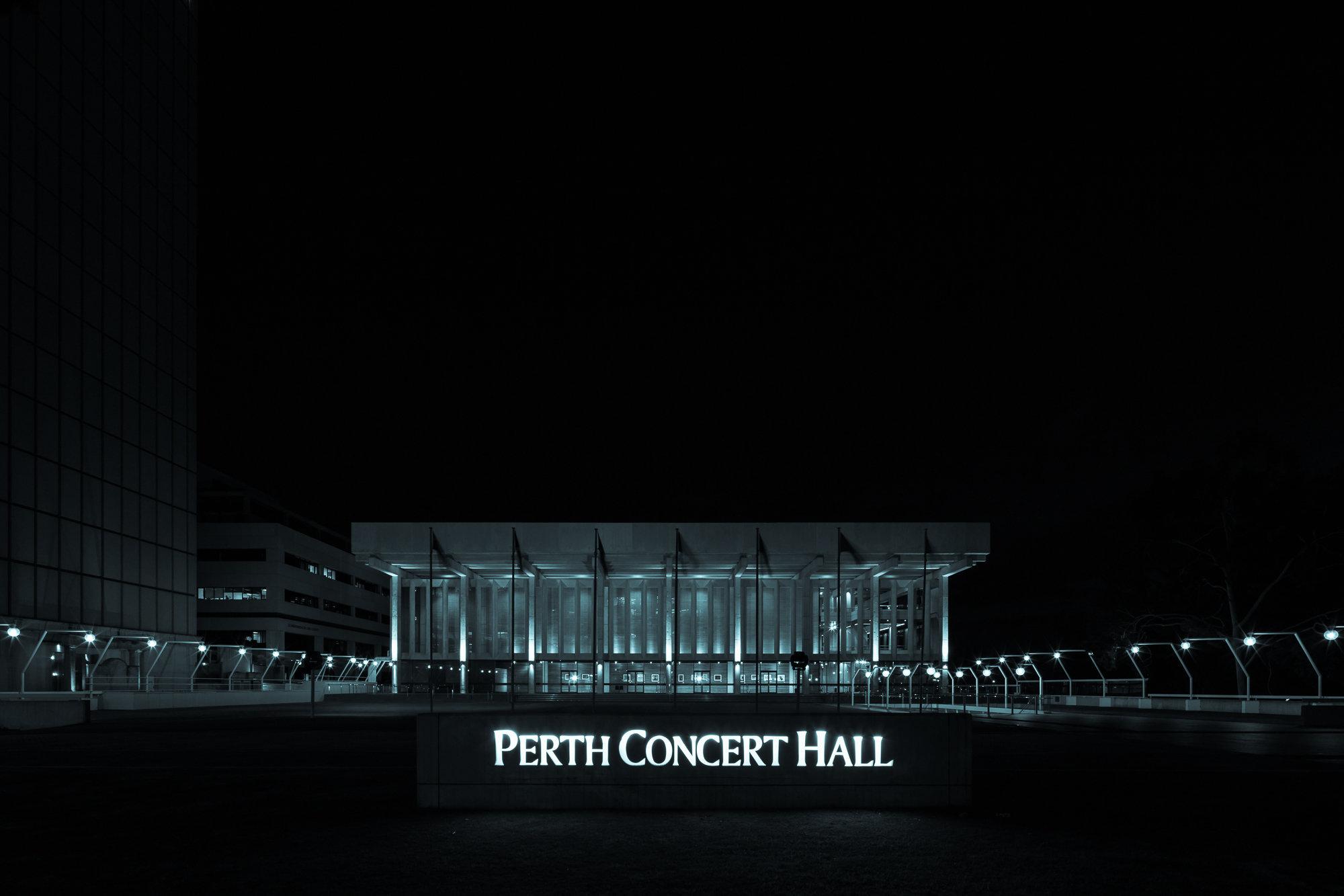 PERTH CONCERT HALL [PERTH]