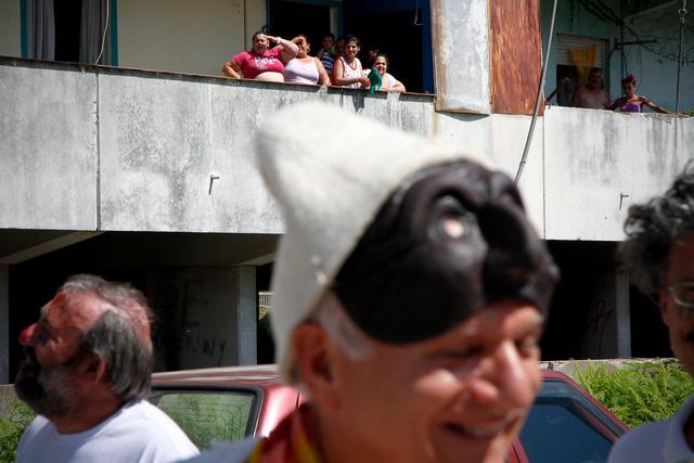 Pulcinella in Scampia