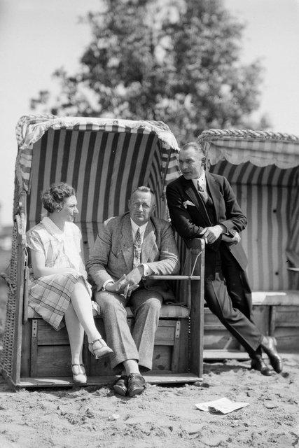 zondag besteding met familie en vrienden ca 1920