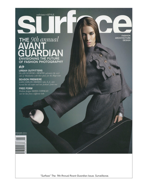 Surface magazine, 2009
