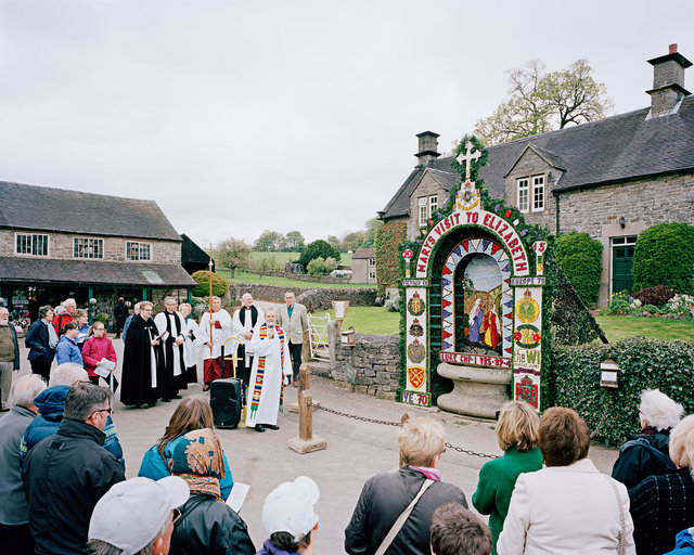 Blessing Ceremony of Hands Well, Tissington, Derbyshire
