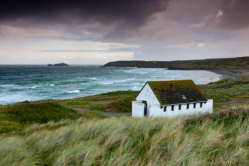 Godvery Point Lighthouse - Stormy Morning