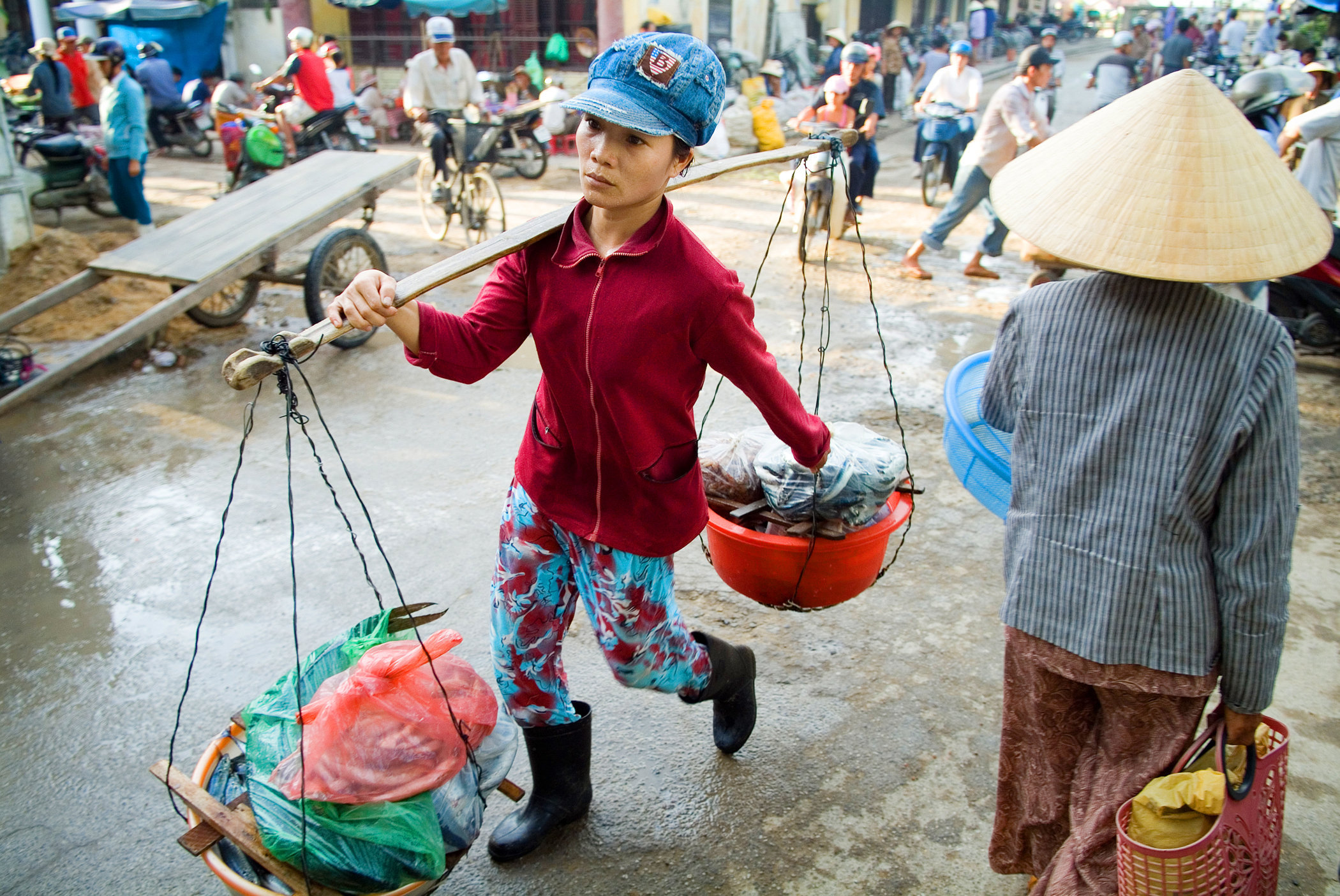 Market Day, Hoi An