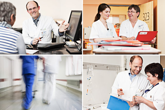 corporate profiles for various clinical facilities