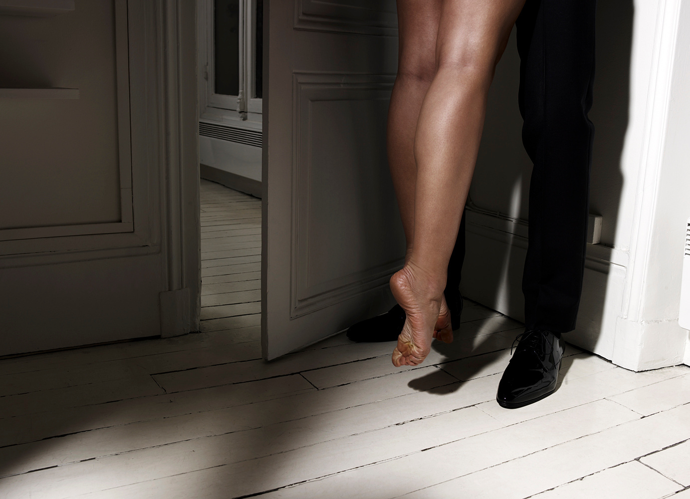Katsuni's feet  for l'Optimum France 2009