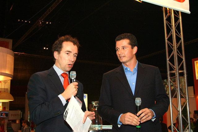 Peter vd Geer & Richard Krajichek