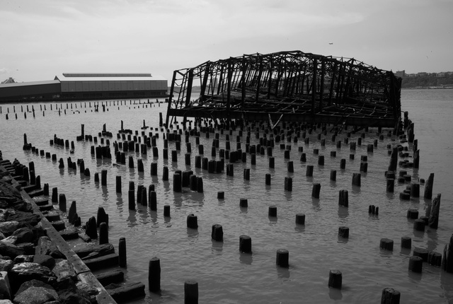 Abandoned Railroad Pier
