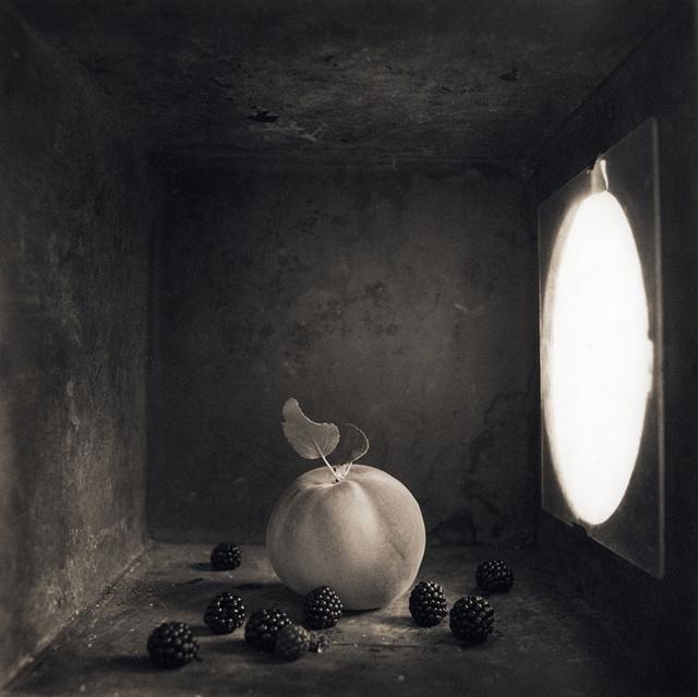 Peach & Blackberries , c 2000
