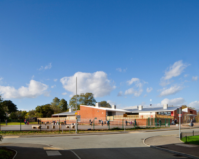 Takeley Primary School. Sarah Wigglesworth Architects.