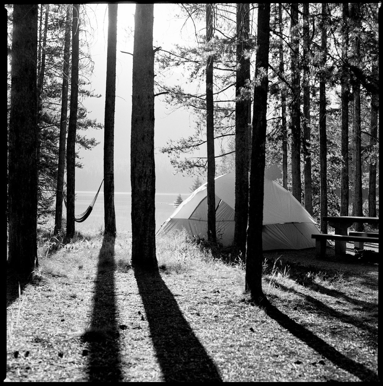 Two Jack's Campsite, the Rockies