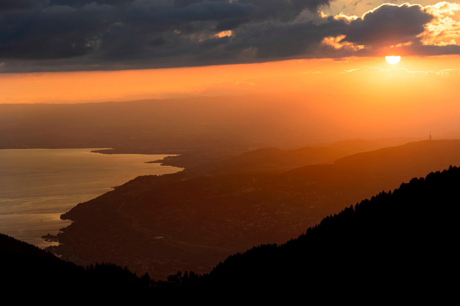 Sunset - Lavaux - 2013