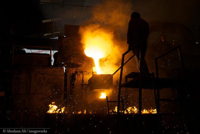 Steel Mill in Kenya