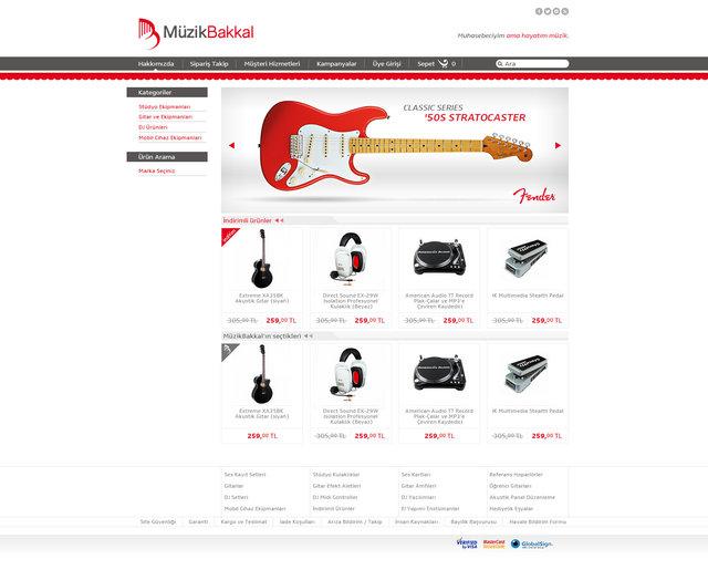 Müzikbakkal - Branding Project - 2014