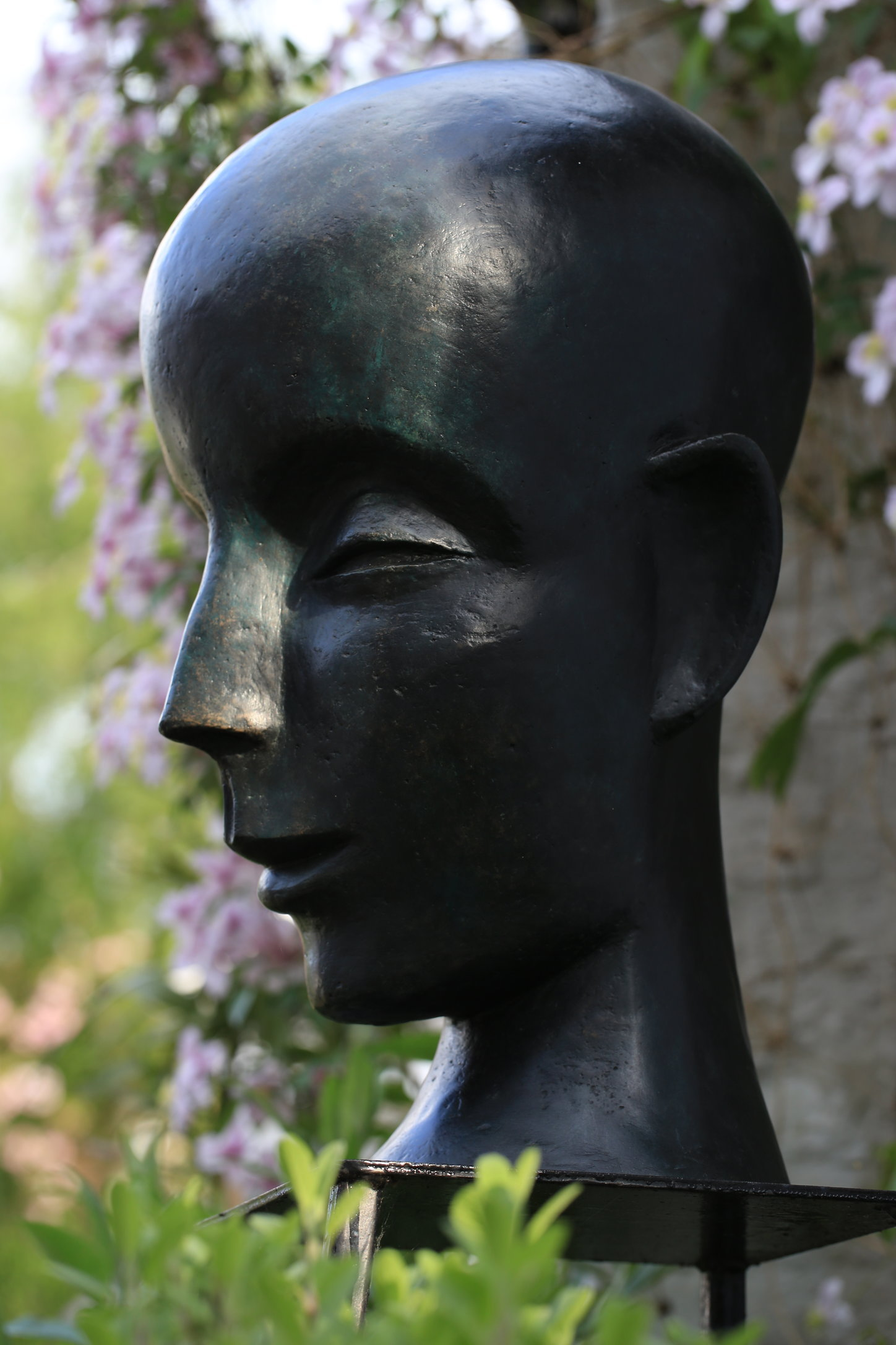 Buddha Head 1999  60 x 30 x 40cm Bronze Resin  Open Studio (OAW) 2016