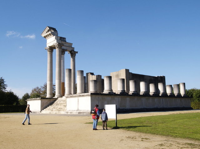 xanten - tempel