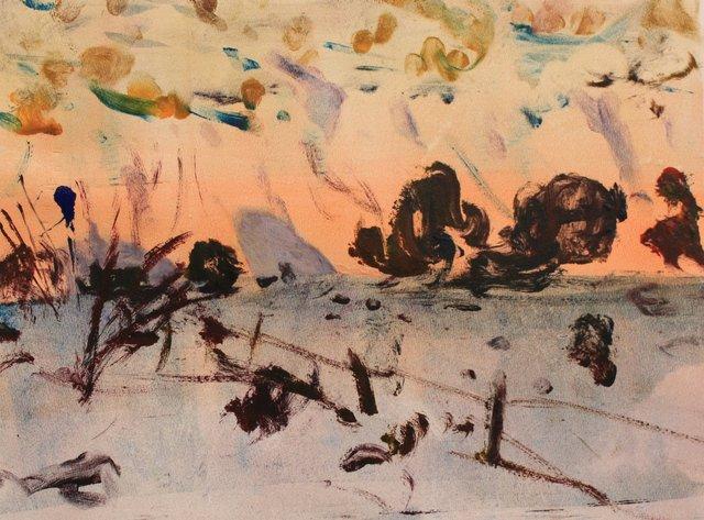 "Arroyo Sunset        10 x 13"""
