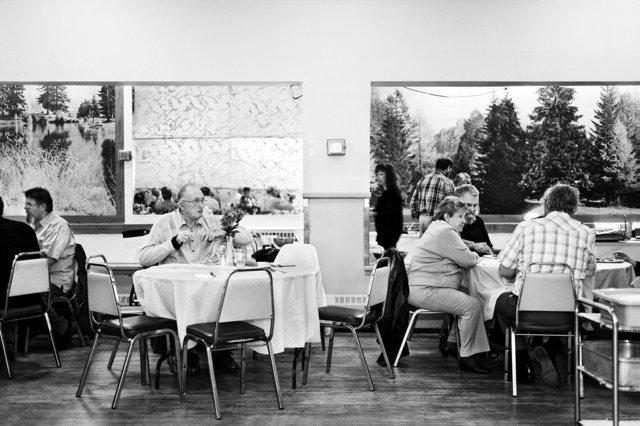 Darts Banquet, Brigadier O M Martin Branch 345