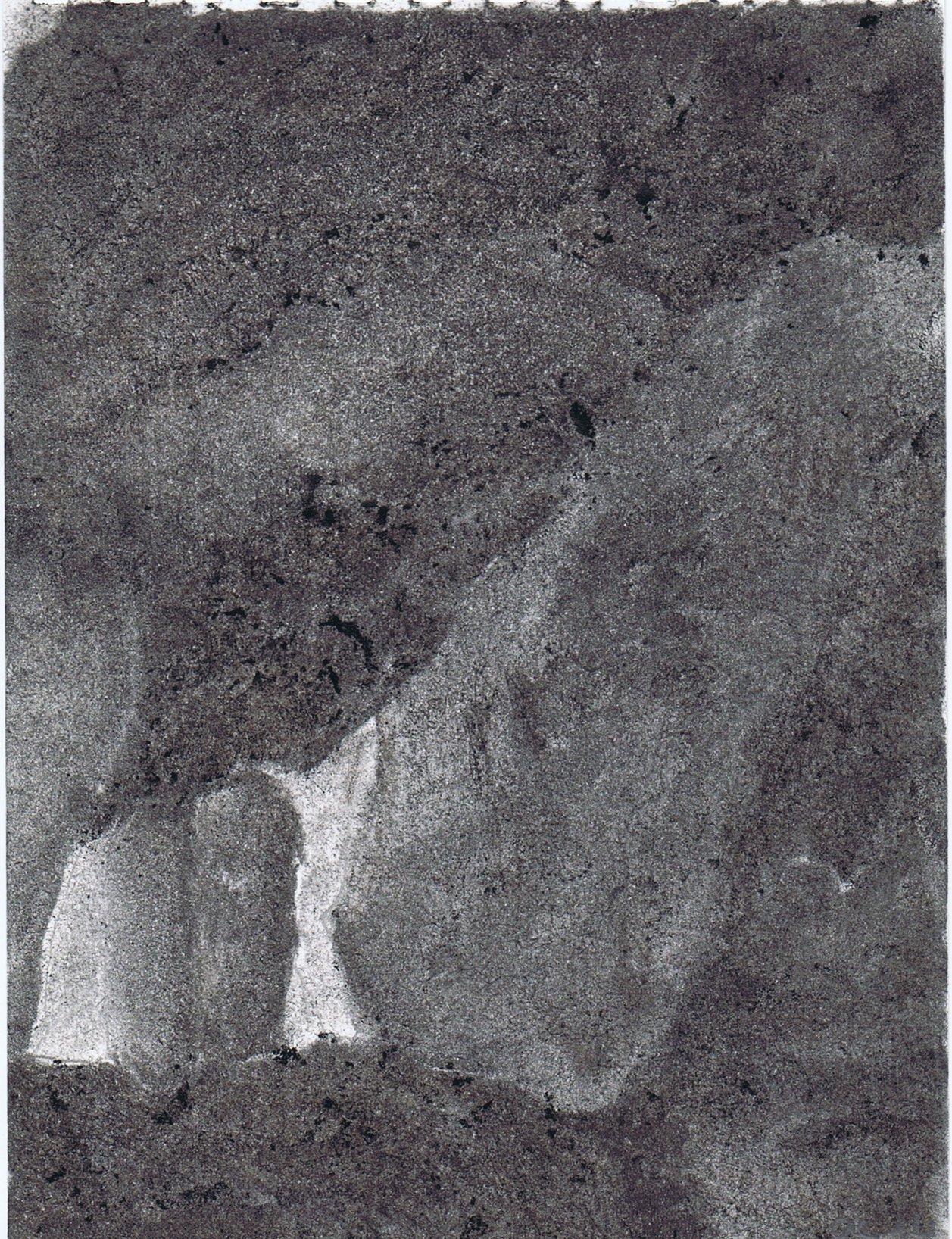 Mégalithe au clair de lune VIII