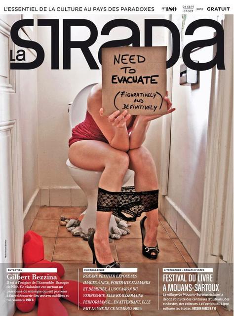 En couverture de La Strada n°180.