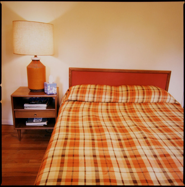 Plaid Bed