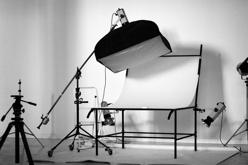 studio fotografico attrezzatura still life