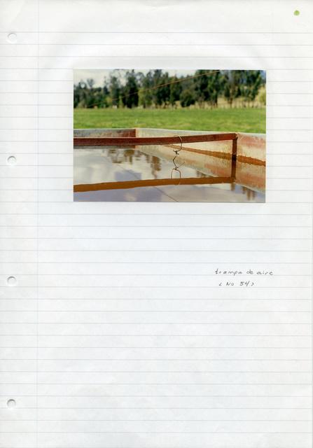 Trampas de viento, cuaderno de ejercicios