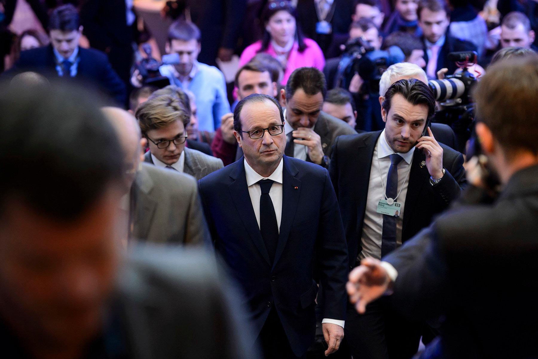 Francois Hollande - World Economic Forum - 2015