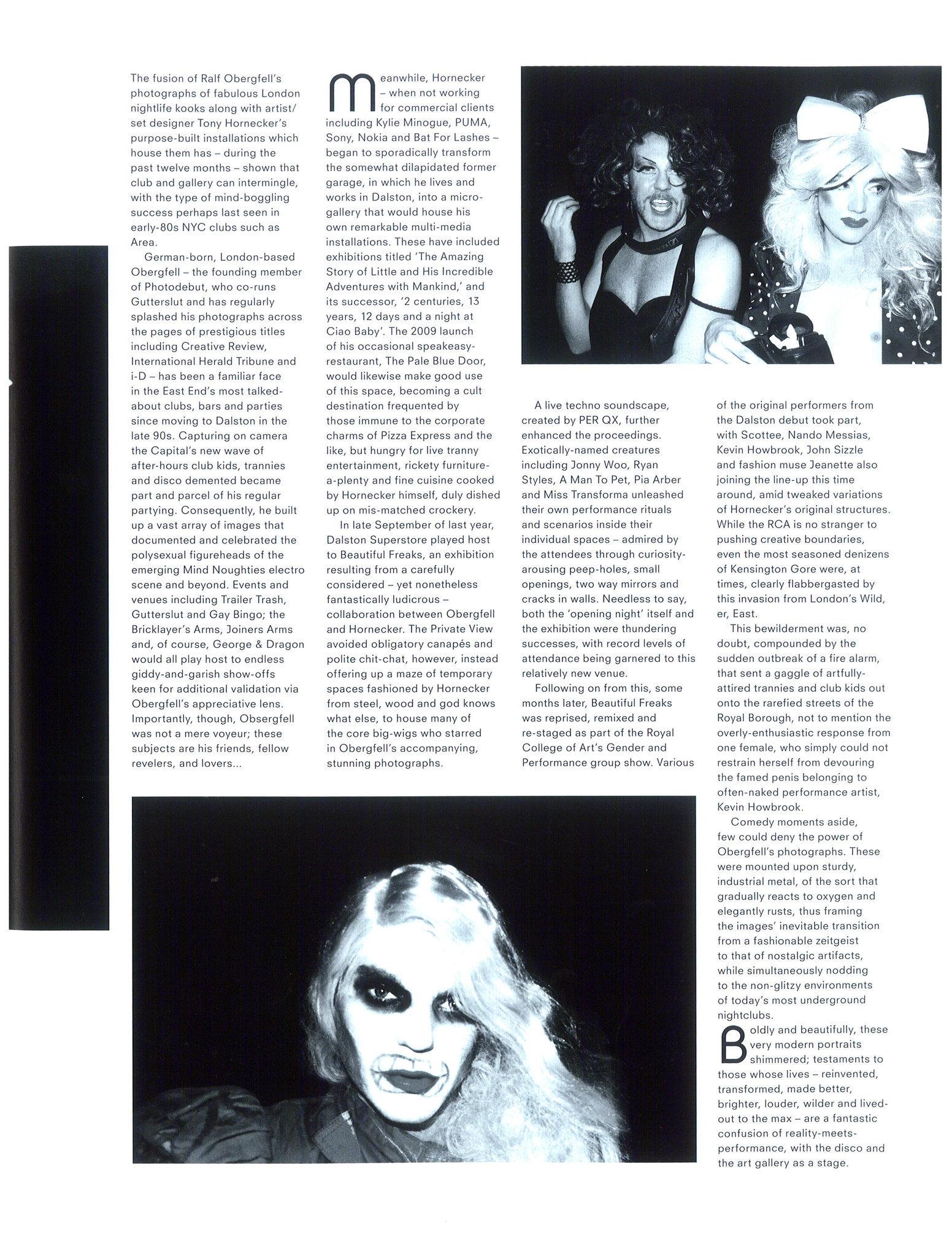 B.EAST, Issue 12, ''Beautiful Freaks'', Ralf Obergfell - Beautiful Freaks_2.jpg