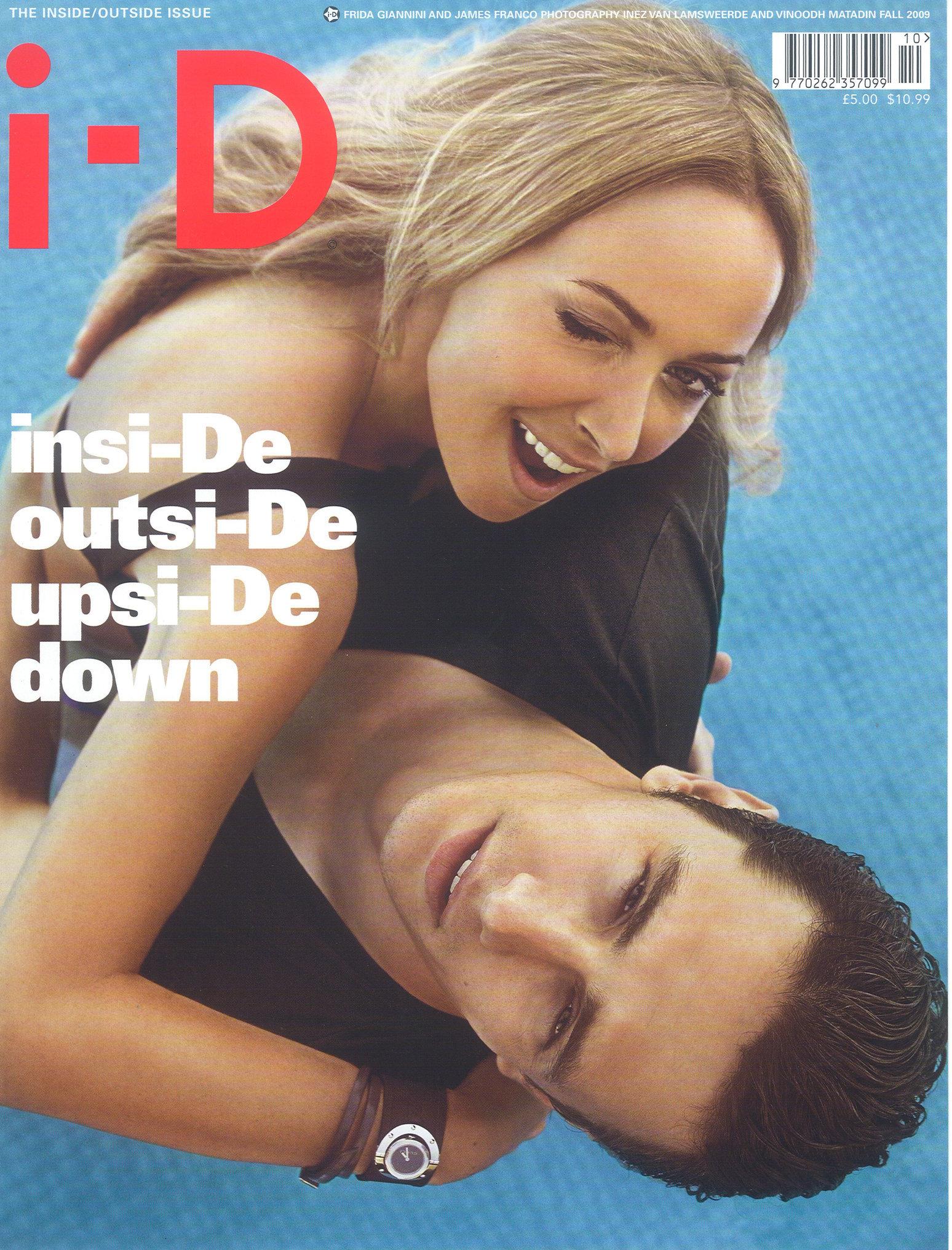 I-D Magazine, Fall 2009, #303, Cover.jpg