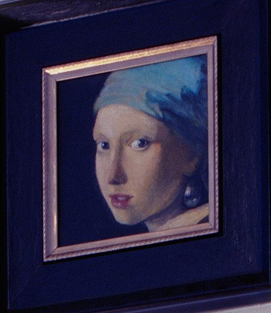 Vermeer copy detail