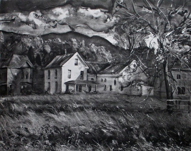 "Jeffersonville, VT    21 x 26""  sold"