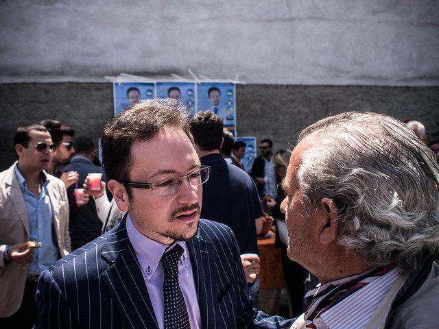 16.Enrico Maria Natale, candidato a sindaco e avversario di Renato Natale al ballottaggio.