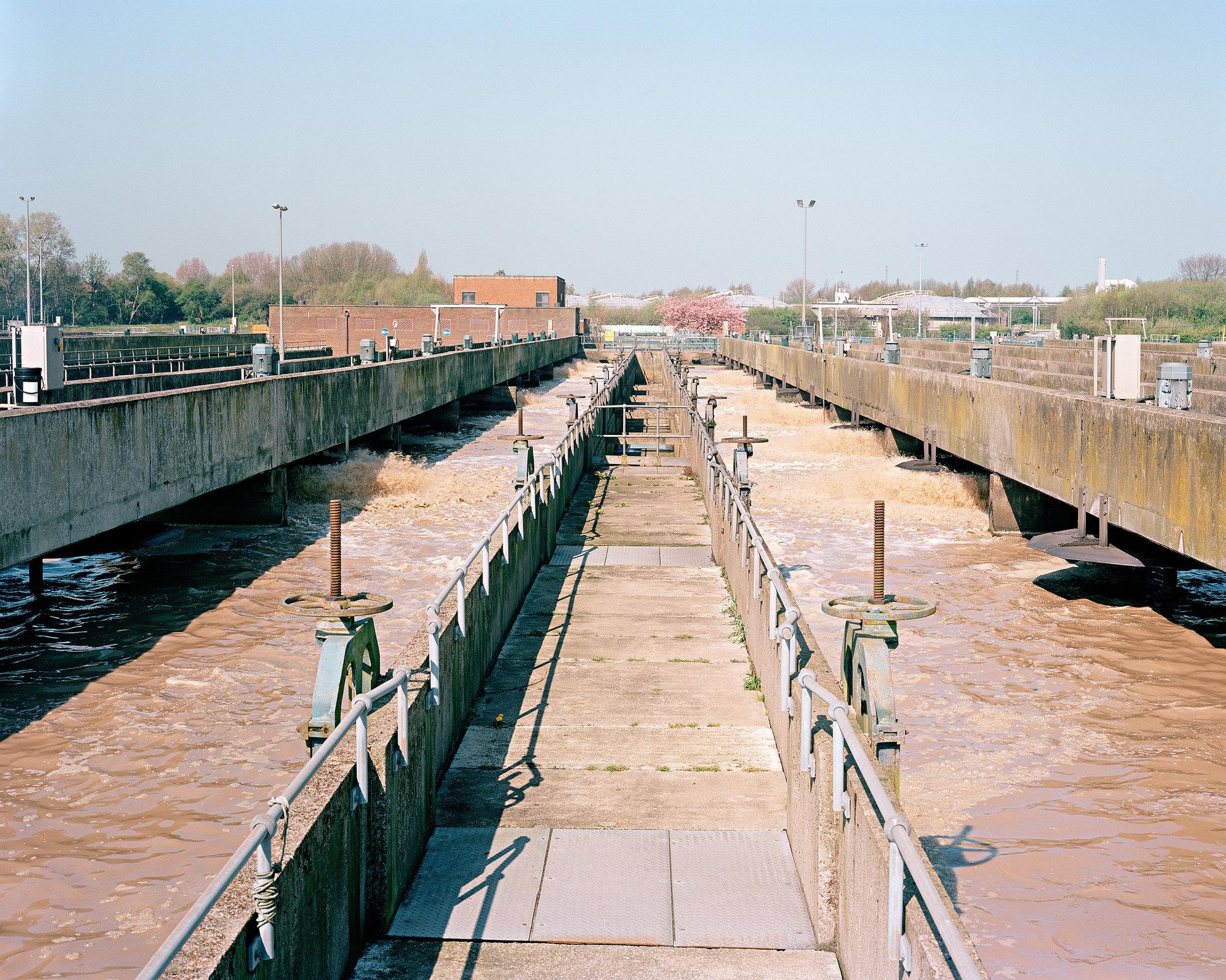 Activated Sludge Plant, Davyhulme Sewage Treatment Works, Trafford